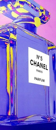 Chanel No 5 Art | House of Beccaria#.  Via @houseofbeccaria. #Chanel #art