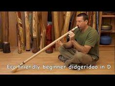 Eco Friendly Go Green Didgeridoo Demo from the Didgeridoo Store