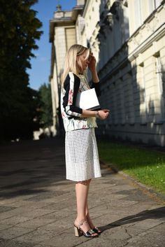 www.everystyle.pl blog blogger street style, Victoria Beckham skirt