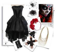 """""""¿Cómo vestirse de Catrina?"""" by bellahermosacom on Polyvore"""