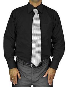 Moda Di Raza Men's Dress Shirt Italian Style- Black/Sleeve 32/33 - Neck 14.5 Moda Di Raza http://www.amazon.com/dp/B0108VZUAA/ref=cm_sw_r_pi_dp_XdZ-vb18TWDV6