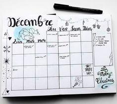 "99 mentions J'aime, 14 commentaires - Virginie (@french_dreamer_life_lover) sur Instagram : ""Planning décembre #monthlylog #decembre #december #hellodecember #hellodecembre #bulletjournal…"""