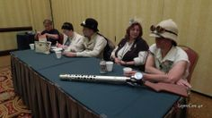"I was on the Steampunk Fashion panel with author Gail Carriger.  She started one of her stories off with, ""Seeing your big gun reminds me of. . .""  Oh yeah it does!"
