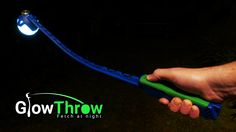 Clever - glow-in-the-dark fetch game for dogs! https://www.kickstarter.com/projects/1654981963/glowthrow-fetch-at-night