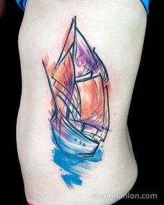 Steph Hanlon's Painterly Tattoos Are Fine Art for Your Skin