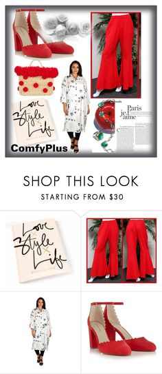 """COMFY PLUS #12-IV"" by nizaba-haskic ❤ liked on Polyvore featuring Red Herring, Nannacay and Tacori"