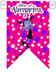 Seguimos agregando al sitio Kits para imprimir Gratis, en esta oportunidad Vampirina es la elegida para ofrecerte estos encantadores diseños para decorar una fiesta de cumpleaños de manera fabulosa… Birthday Pinata, Birthday Party Themes, 2nd Birthday, Vampire Party, Printable Banner, Halloween Crafts, Party Supplies, Coloring Pages, Birthdays