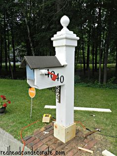 Mailbox Makeover - Redhead Can DecorateRedhead Can Decorate