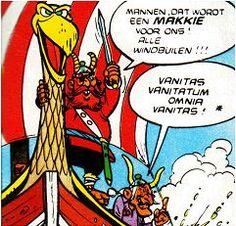 Er worden veel Latijnse citaten gebruikt in de Asterix albums. Meestal heb je geen idee wat de betekenis is. Jammer, want het lezen van Asterix wordt veel leuker als je weet wat het betekent. Hier volgt een overzicht...
