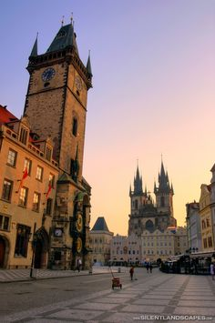 Old Town Square in Prague. Full photo here: http://www.silentlandscapes.com/old-town-square-prague