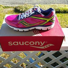 Saucony Running Shoe Grid Mayhem worn one time Saucony Shoes Athletic Shoes