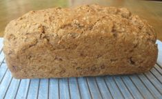 100% Whole Wheat Nut and Seed Bread