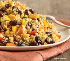 Fixate Quinoa and Black Bean Salad: 12 servings: 1 green, 1 yellow, 1.5 tsp