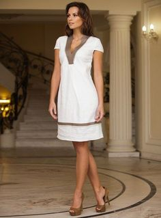 Платья и сарафаны из льна: Идеи и.. - #и #Идеи #из #льна #платья #сарафаны