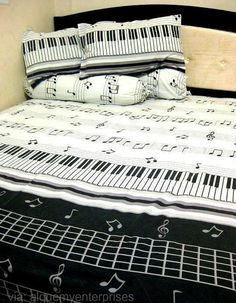 Musical bedding