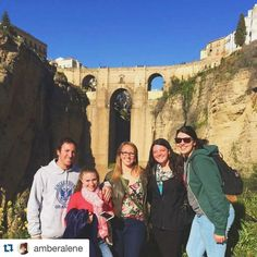 #Repost @amberalene Walked through mines and gardens in Ronda yesterday.  #ispyapi #erasmus #studyabroad