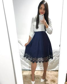 Swans Style is the top online fashion store for women. Shop sexy club dresses, jeans, shoes, bodysuits, skirts and more. Modest Dresses, Modest Outfits, Skirt Outfits, Modest Fashion, Cute Dresses, Dress Skirt, Short Dresses, Fashion Dresses, Dress Up