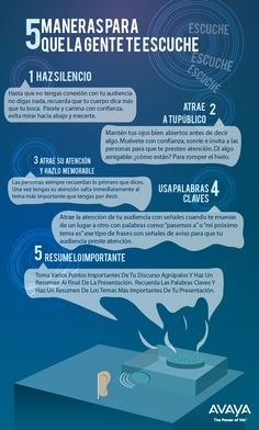 5 Maneras para que la gente te escuche #Business #Recursos
