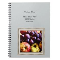 Shop Zazzle's Fruit notebooks and journals. Spiral, Promotion, Notebook, Articles, Notes, Fruit, Food, Report Cards, Notebooks