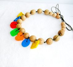 Nursing/teething necklace  gift for her  by MiracleFromThreads, $15.00