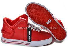 f79fe75324c6 Supra Falcon Red White Men s Shoes