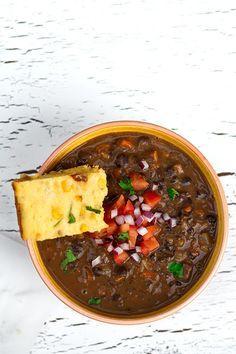 Brazilian Style Black Bean and Smoked Tofu Stew (Vegan Feijoada) | Veggie Belly | Vegetarian Recipe