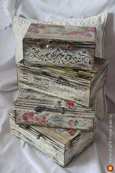 Чайная коробка шебби-шик Decoupage Box, Decoupage Vintage, Pretty Storage Boxes, Deco Rose, Pretty Box, Altered Boxes, Vintage Box, Diy Box, Bottle Crafts
