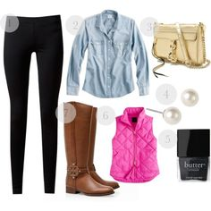 #prep #boot outfit + 4 more styling ideas