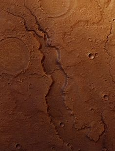 An impressive river valley in Acidalia Planitia