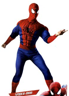 COSTUME DE SPIDER-MAN (ADULTE) SPIDER-MAN COSTUME (ADULT) COSTUMES