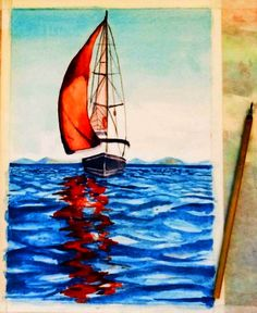 Life is a Sail Women Life, Artworks, Painting, Painting Art, Paintings, Painted Canvas, Drawings, Art Pieces