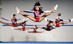 World Cheerleading Championships......I need to start stretching 0.0