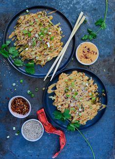 okonomiyaki // mere krydderi, mere ingefær, ide: alm løg for en rund smag  Ellers rigtig god.