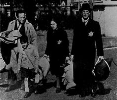 A family in Amsterdam is taken from their homes. Their destination might be a ghetto or a concentration camp. Source: Dachau Memorial Museum