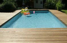 Afbeeldingsresultaat voor houten vlonder tuin