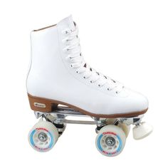 Shop for Chicago Skates Women's Deluxe Lined Rink Skate. Get free delivery On EVERYTHING* Overstock - Your Online Sports & Fitness Shop! Quad Roller Skates, Roller Rink, Roller Derby, Roller Skating, Adult Roller Skates, White Roller Skates, Outdoor Roller Skates, Skating Rink, Shopping