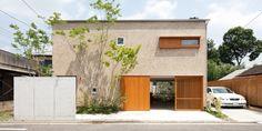 南与野 S様邸 | つくば 守谷 で心地よい木の家を建てるなら、信頼できる工務店 (有)自然と住まい研究所へ。 Architecture 101, Minimalist Architecture, House Windows, Facade House, Japan Modern House, May House, Small Modern Home, Moving House, Japanese House
