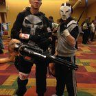[Self] Indy Comic Con...The Punisher and Casey Jones