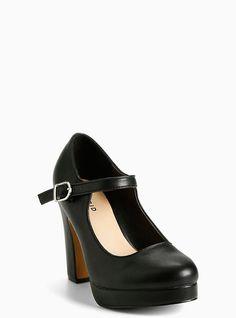 b1bdfbb7cbf8 Ankle Strap Mary Jane Heels (Wide Width)