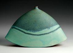 Green rocking pot 20 x 30cm  Emily Myers