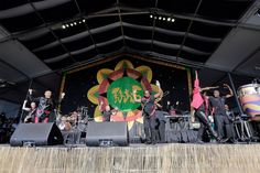 Earth, Wind and Fire perform on the Congo Square Stage at the New Orleans Jazz & Heritage Festival on Friday, May 5, 2017.