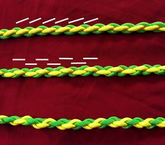 Viking whipcording (or interlocking, slyngyng, or even spoon tossing) is Whipcorda fun, fast, and easy way of braiding cords to make bigger, stronger, and more decorative cords.