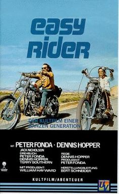 Easy Rider (1969) Two counterculture bikers travel from Los Angeles to New Orleans in search of America.