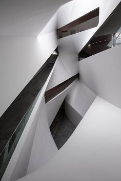 Tel Aviv Museum of Art - love the shapes/ arrangements of the shapes within the walls.