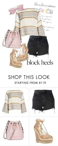 """""""bag"""" by masayuki4499 ❤ liked on Polyvore featuring See by Chloé, Alexander Wang, Armani Jeans and Jessica Simpson"""