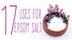17 Amazing Uses for Epsom Salt… Some You Won't Believe | www.thenutritionwatchdog.com