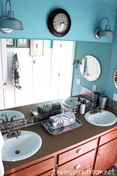 Kids Simple Bathroom Makeover {Before & After} :: Hometalk