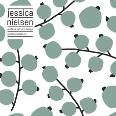news - Jessica Nielsen - surface pattern design Surface Pattern Design, Pattern Art, Textures Patterns, Print Patterns, Floral Patterns, Sculptures Céramiques, Web Design, Fruit Pattern, Pattern Illustration