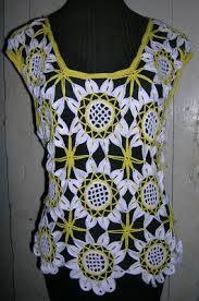 Resultado de imagen para blusas hechas con horquilla
