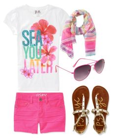 tween summer outfit